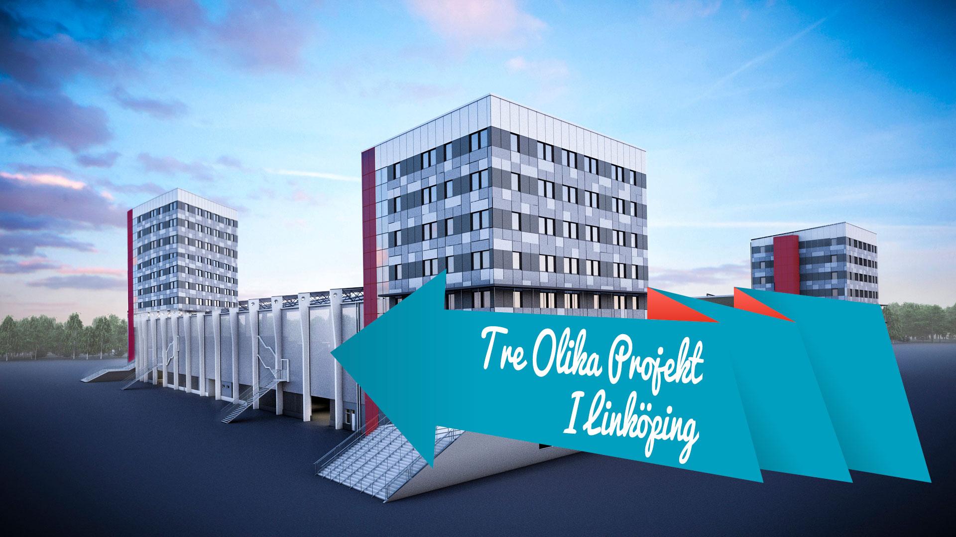 Tre Olika Projekt I Linköping